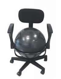Ergonomic-Ball-Chair-With-Armrests