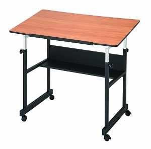 MiniMaster FourPost Cherry Drafting Tables