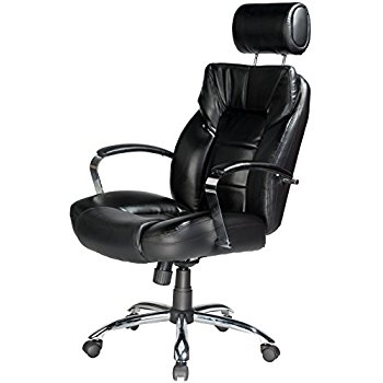 Comfort Products 60-5800T Commodore II Oversize Leather Chair