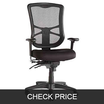 Alera elusion series mesh high back multifunction chair
