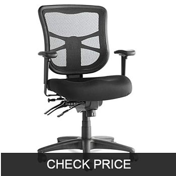 Alera Elusion Series Mesh Mid-Back Multifunction Chair