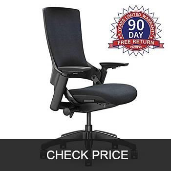 CLATINA Ergonomic High Swivel Executive Chair with Adjustable Headrest