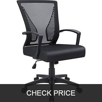 Furmax Mid Back Mesh Office Chair