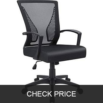 Furmax Mid Back Mesh Office Chair