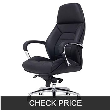 Gates Genuine Leather Executive Office Chair