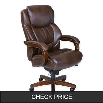 La-Z-Boy Delano plus size Leather Office Chair