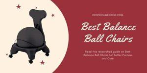 Best Balance Yoga Ball Chair for Office