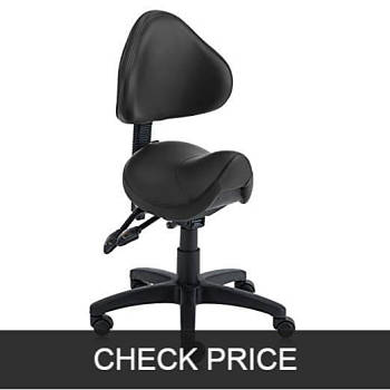 DR. LOMILOMI Hydraulic Saddle Hygienic Stool Chair