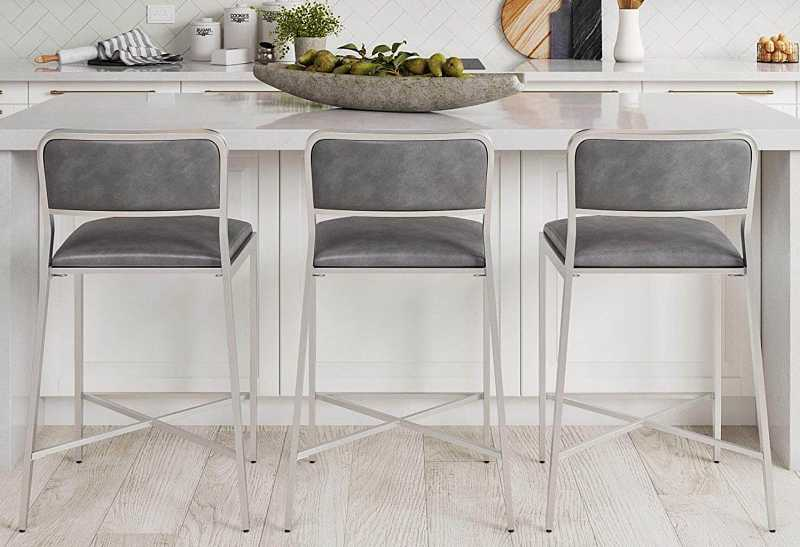 Nathan James 23102 Kira Counter Bar Stool