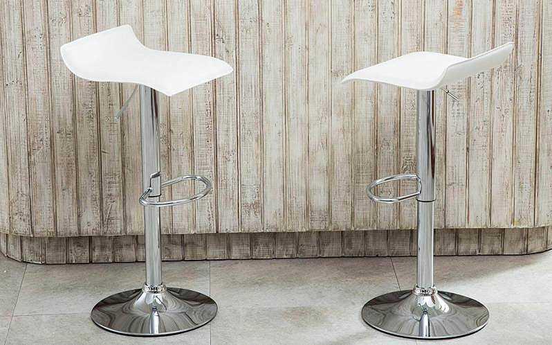 Roundhill Furniture Contemporary Bar Stools