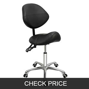 Grace and grace professional saddle stool chair