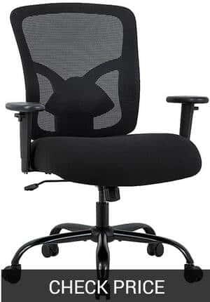 BestOffice 400lbs Plus Size Mesh Office Chair